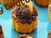 Magdalenas Calabaza Chocolate
