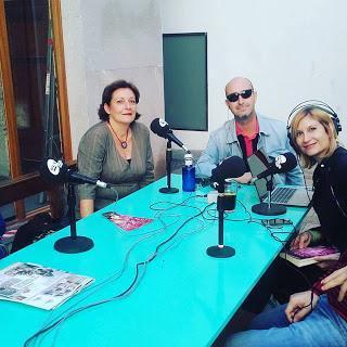 Con Ramón Palomar en Valencia Radio