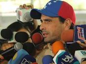 Henrique Capriles: Venezuela quiere cambio
