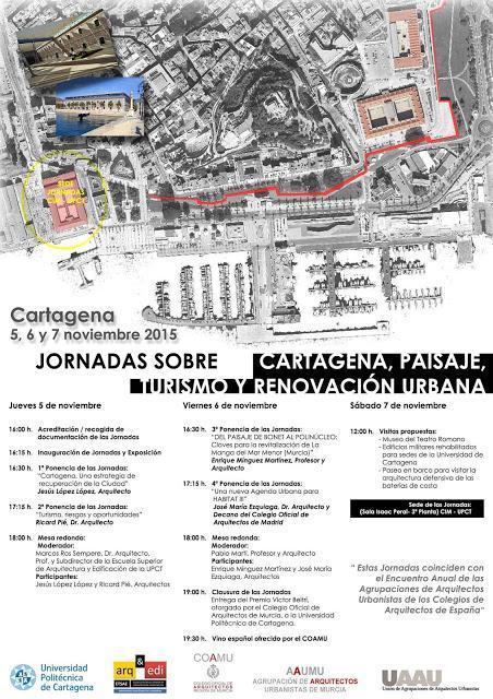 Encuentro anual de Agrupaciones de Arquitectos Urbanistas en Cartagena