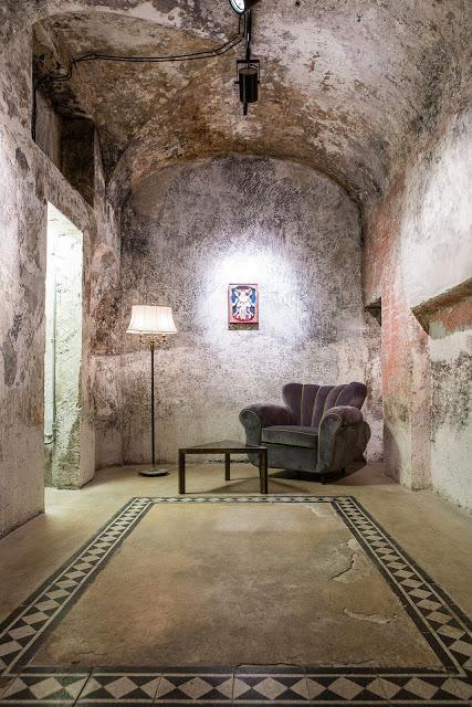 Una inusual (y bellísima) galería de arte en Roma