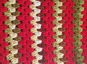 Mantita tradicional crochet