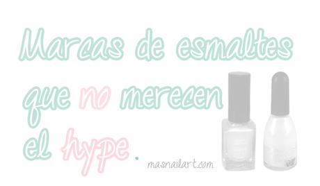 Esmaltes de uñas que no merecen el hype.