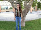 jeans suede vest