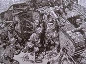 Rememorando tripulación tanquista laureada Gran Guerra