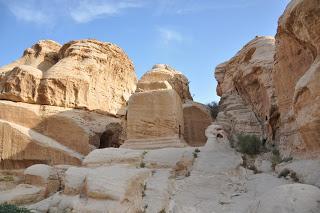 Bloques Djin, Petra