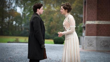 A PROMISE, from left: Richard Madden, Rebecca Hall, 2013. ©IFC