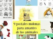postales molonas para amantes animales