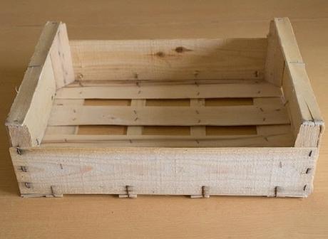 ¿Qué podemos hacer con una simple caja de fruta?