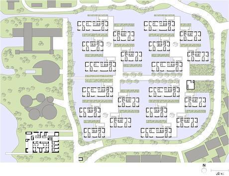 NOT-095-David Chipperfield, viviendas Xixi Wetland Estate en Hangzhou-3