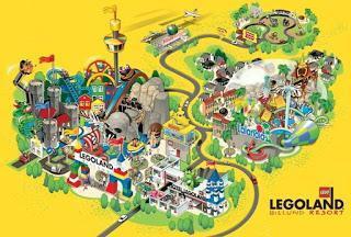 LEGOLAND, el fantástico parque temático de Billund. Dinamarca