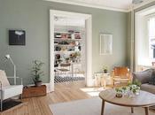 casa verde gris