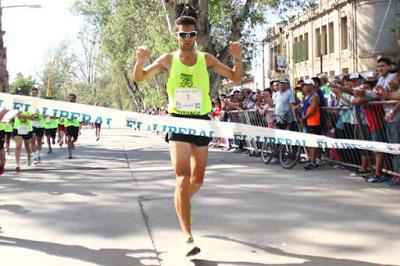 Federico Bruno se impuso en el Maratón 50 Años de Canal 7