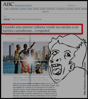 Para destruir los logros de la infancia en Cuba; inventar el `turismo sexual infantil´ [+ video]