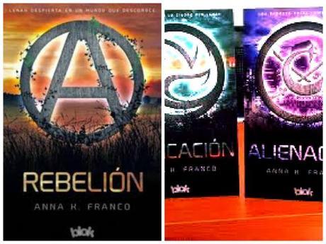 Reseña: Rebelión, de Anna. K. Franco.