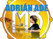Adrián Ade, pequeño gran bateria Alagón.