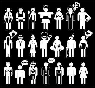 Los personajes norteamericanos como estereotipos