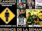 Estrenos Semana Noviembre 2015 Podcast Scanners