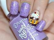 Nail Purple Cupcake Flormar