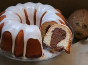 Bundt marmolado coco chocolate