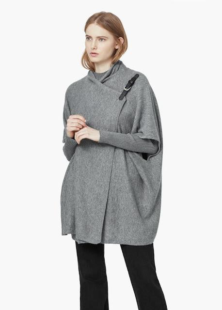 Outfit low cost: Ponchos para otoño