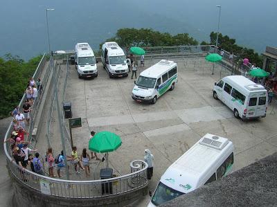 Vans en Corcovado, rio, Brasil, La vuelta al mundo de Asun y Ricardo, round the world, mundoporlibre.com