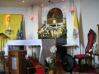 Capilla Cristo Corcovado, Rio de Janeiro, Brasil, La vuelta al mundo de Asun y Ricardo, round the world, mundoporlibre.com