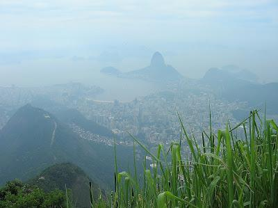 Vistas desde Corcovado, Rio de Janeiro, Brasil, La vuelta al mundo de Asun y Ricardo, round the world, mundoporlibre.com