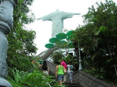 Escalinata Cristo Corcovado, Rio de Janeiro, Brasil, La vuelta al mundo de Asun y Ricardo, round the world, mundoporlibre.com