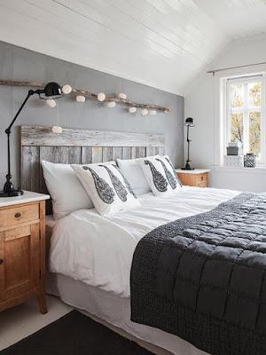 cabeceros de camas en estilo rustico