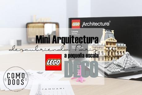 Museé du Louvre Mini arquitectura Lego