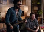 Lenny Kravitz James Franco pasan grande 'Guitar Hero Live'