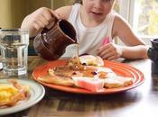 Desayuno rendimiento académico infantil
