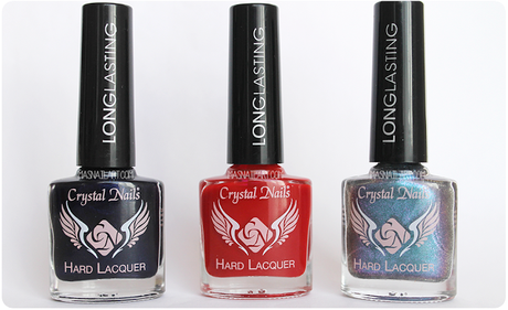Review: Esmaltes longlasting de Crystal Nails.