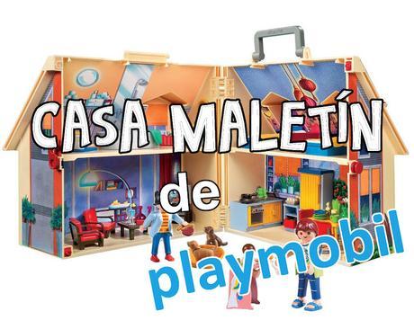 Casa malet n de playmobil paperblog for Casa maletin playmobil