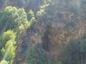 Cuevas colgadas cañón Jarama