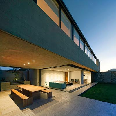 Casa moderna de hormigon en chile paperblog for Casa moderna hormigon