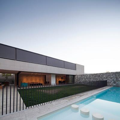 Casa moderna de hormigon en chile paperblog for Casa minimalista uruguay
