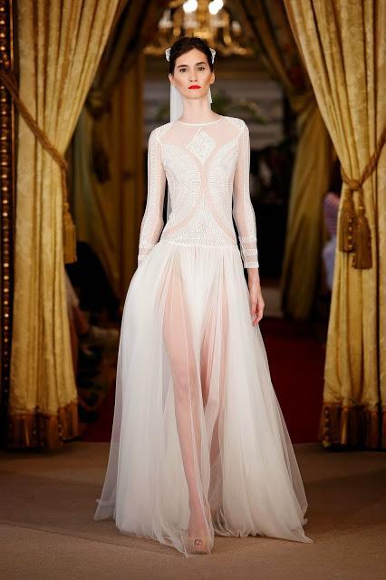 vestidos de novia con manga larga, perfectos para bodas de otoño e