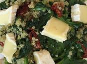 Espinacas quinoa