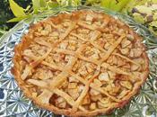 Pastel manzana americano: apple