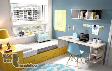 Dormitorios infantiles con estilo n rdico paperblog for Dormitorios juveniles nordicos