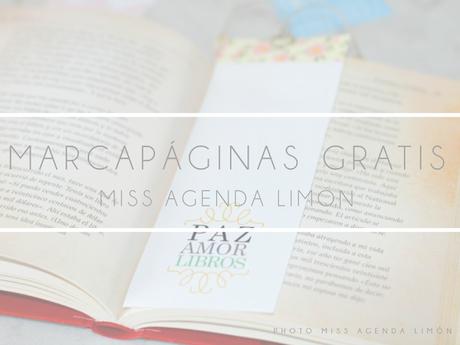 Miss Agenda Limón: DIY Marcapáginas imprimibles y gratuitos - Paperblog