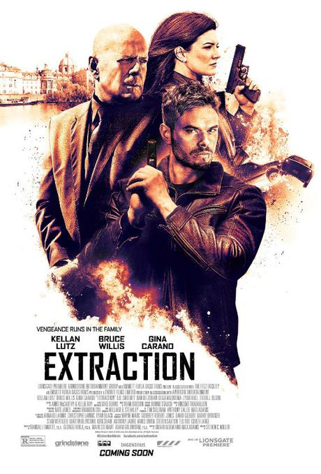 Trailer oficial extraction, thriller accion