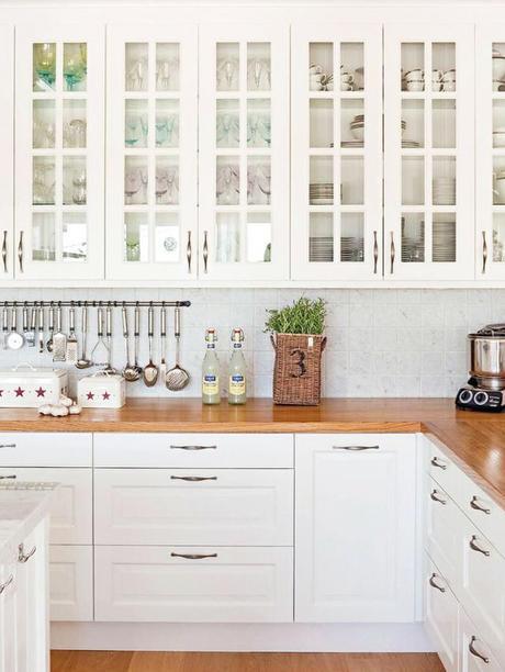 Ideas De Muebles De Cocina. Great Cocina Forma U Moderna Barra ...