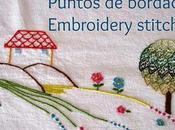 Puntos bordado: satén Embroidery stitches: satin