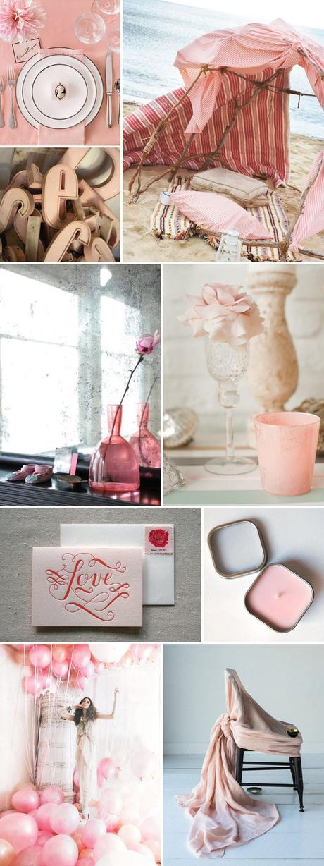 Petal, Rose Quartz, Perfect Peach: