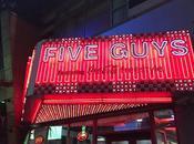 Five guys: mejores hamburguesas para comer Nueva York (parte