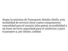Carta abierta Ministra Transporte: Usted debe usuarios, empresarios