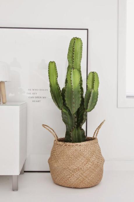 Cestas de fibra vegetal: Ideas para decorar con ellas vuestra casa.